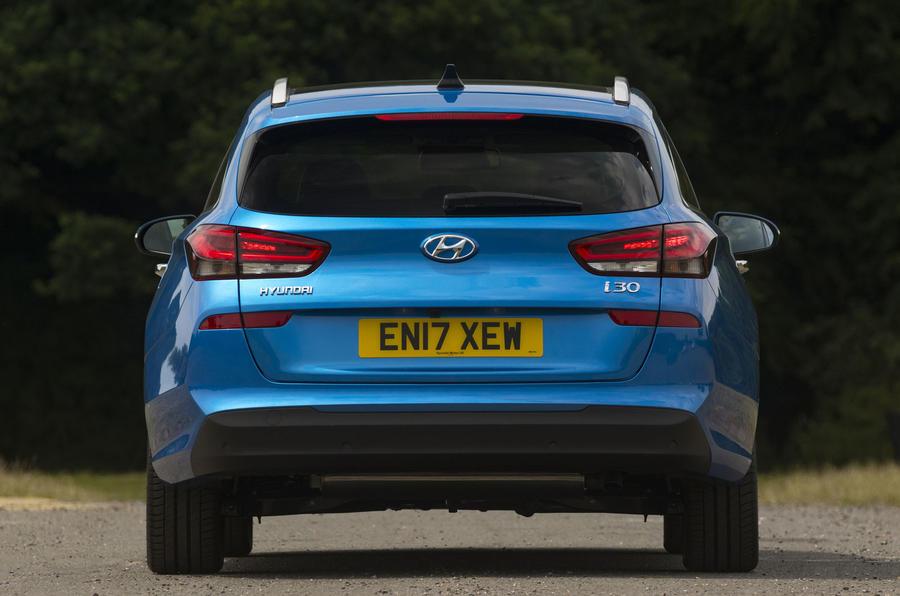 Hyundai i30 Tourer rear end