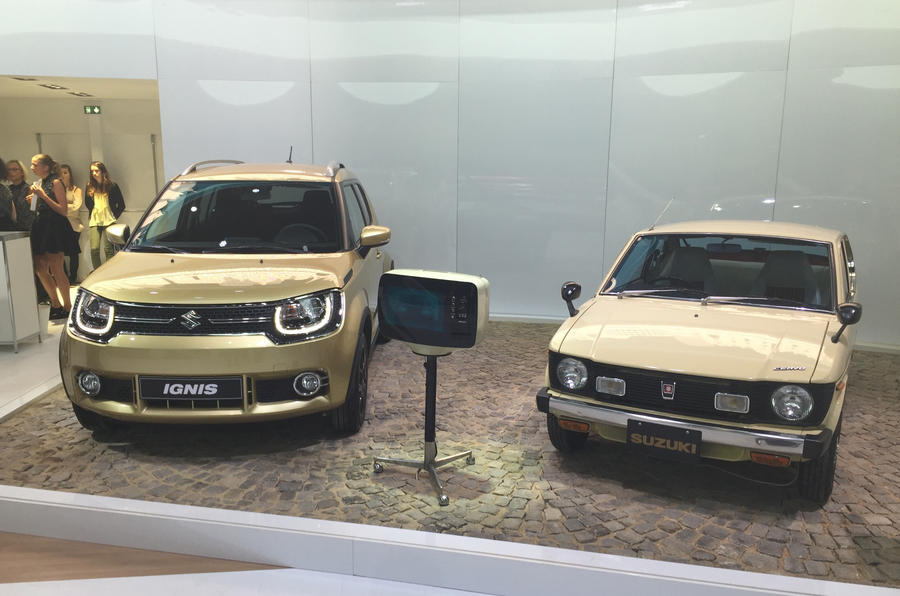 Suzuki Ignis and Whizz Kid at the Paris motor show 2016 - show report and gallery