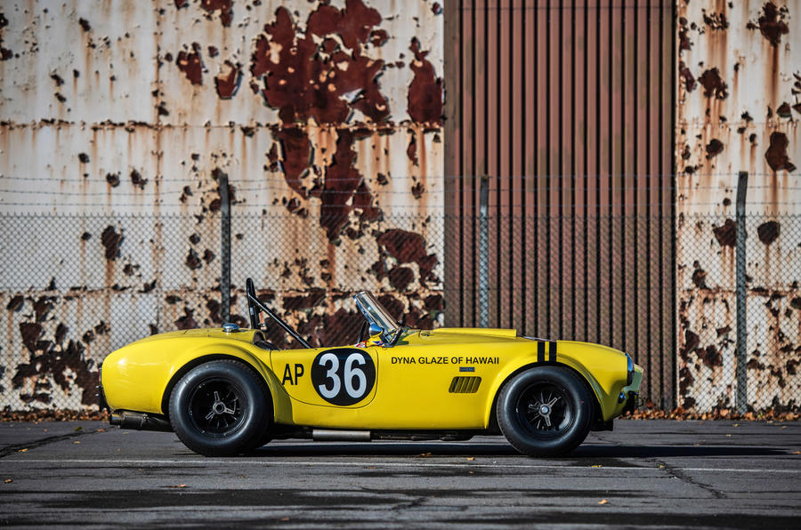 AC Cobra - stationary side