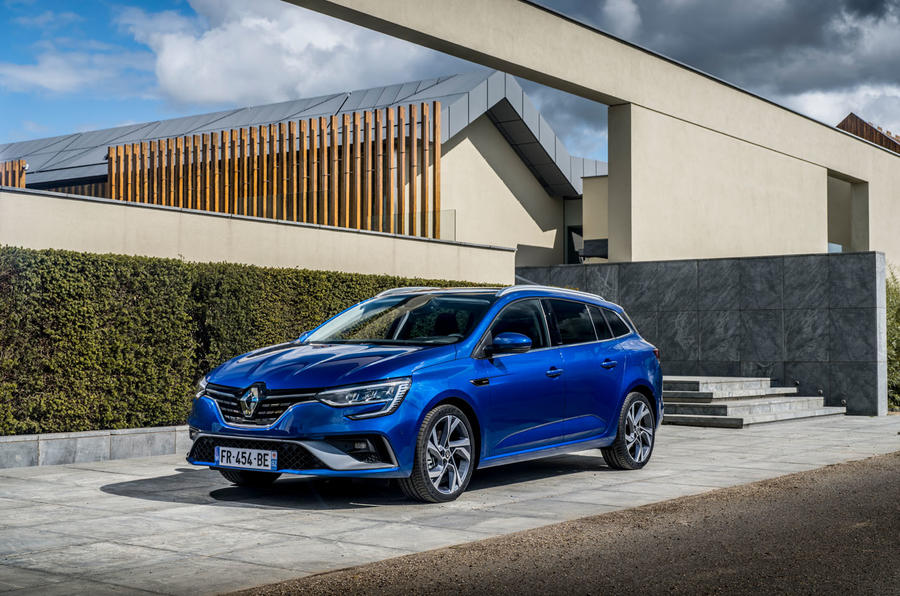 Renault Megane Sport Tourer E-Tech PHEV 2020 first drive review - static