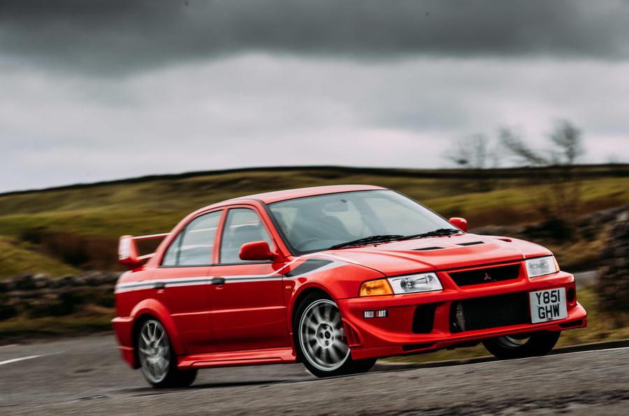 Rally legends twin test: Mitsubishi Lancer Evo VI Makinen vs Subaru ...