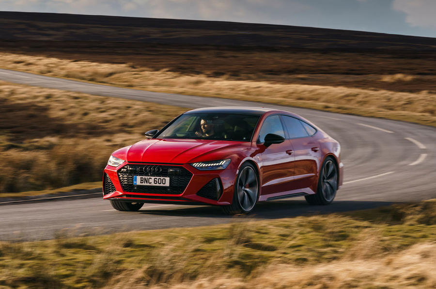 Audi RS7 Sportback 2020 UK first drive review - on the road