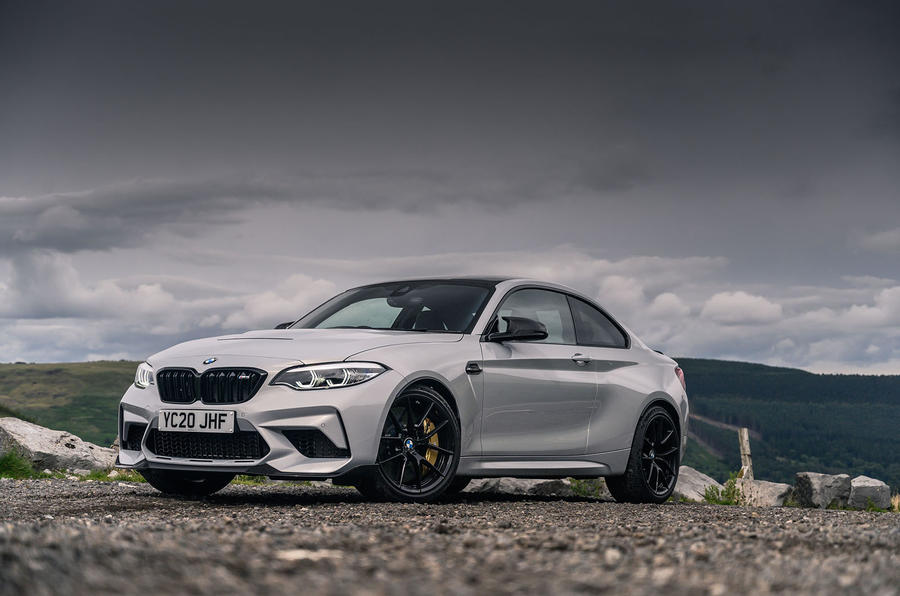 BMW M2 CS 2020 UK first drive review - static