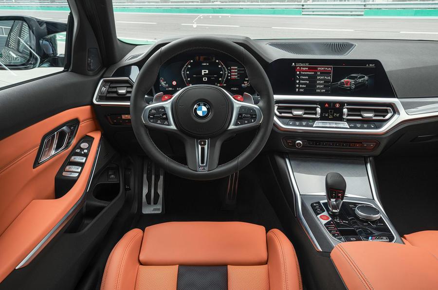 BMW M3 - interior