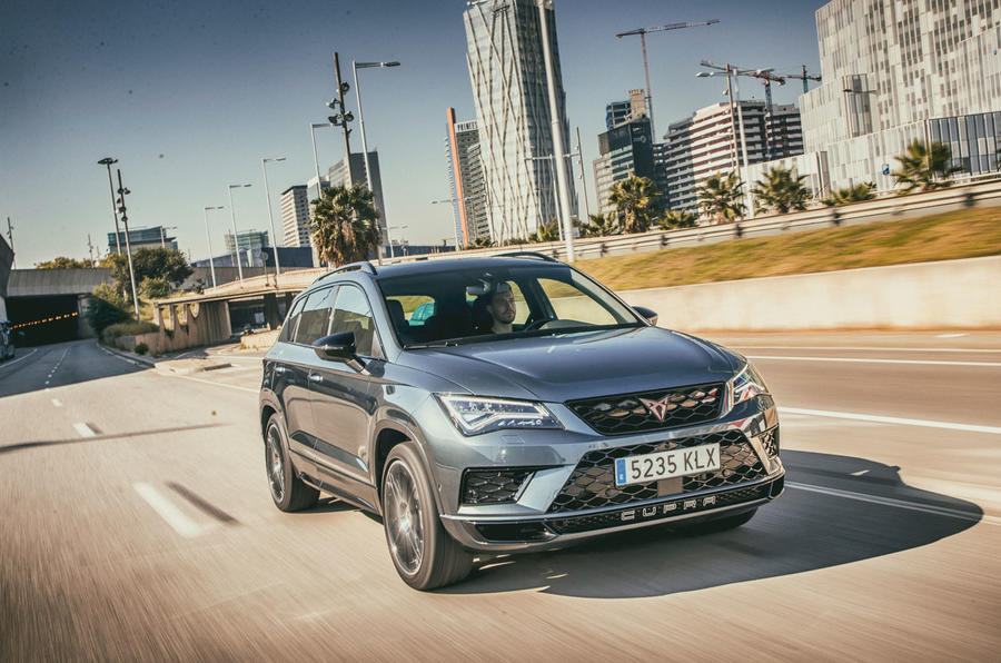Cupra Ateca 2018 first drive review - on the road front