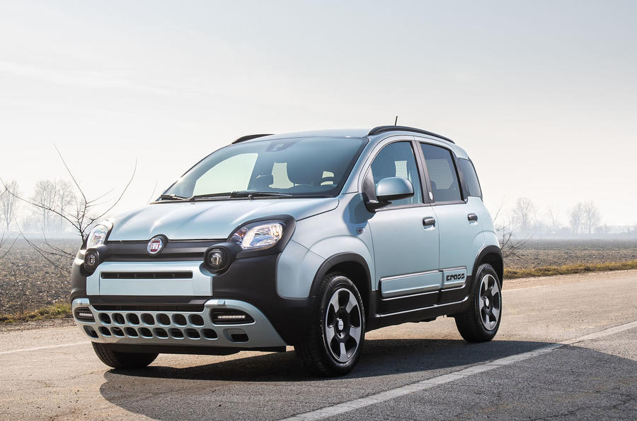 Fiat Panda Cross Hybrid 2020 first drive review - static