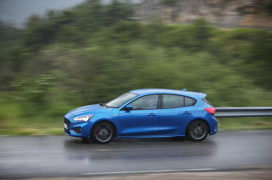 Ford Focus 2018 first drive review side