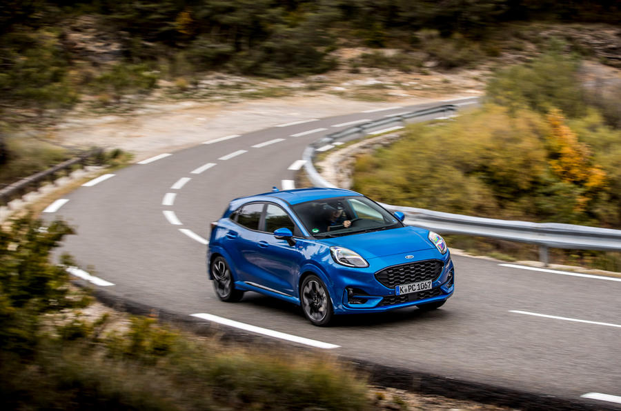 Ford Puma 2020 first drive review - on the road