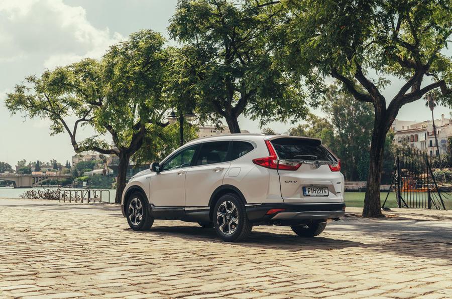Honda CR-V hybrid 2019 first drive review - static rear