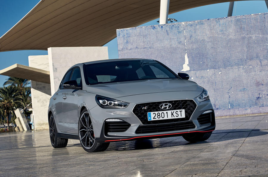 Hyundai i30 Fastback N 2019 first drive review - static front