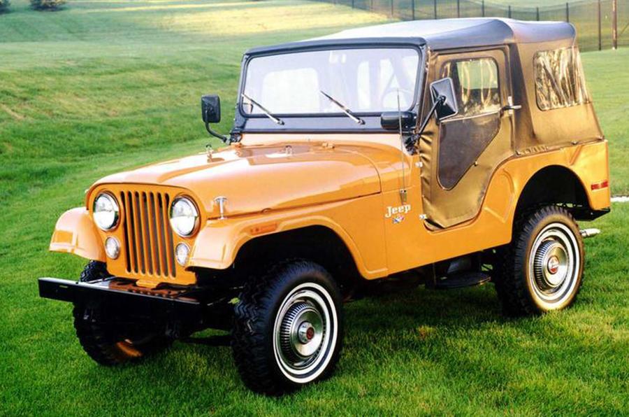 Jeep CJ - static front