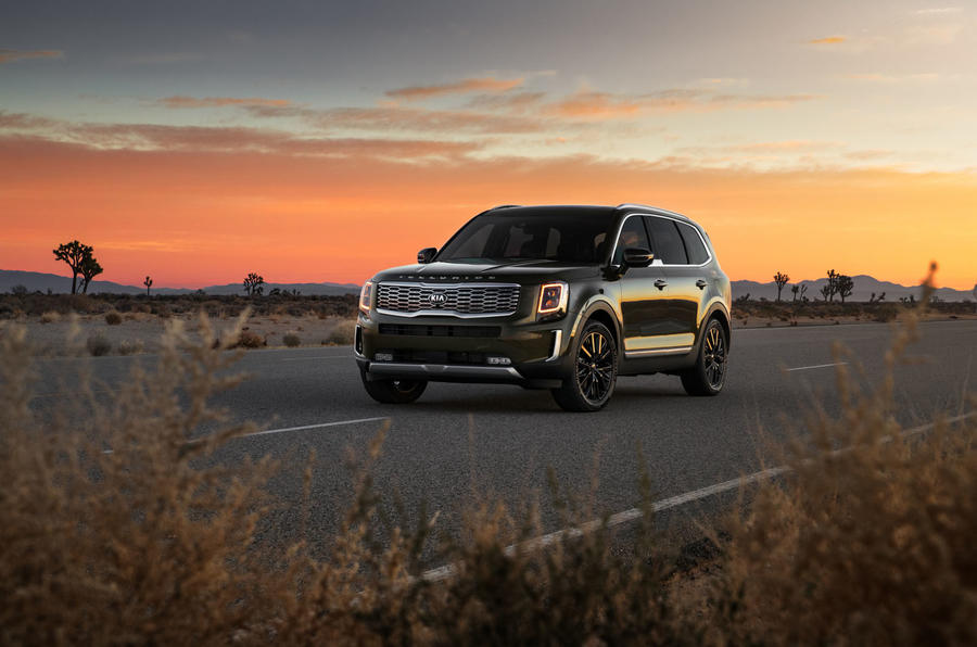 Kia Telluride 2019 first drive review - static front