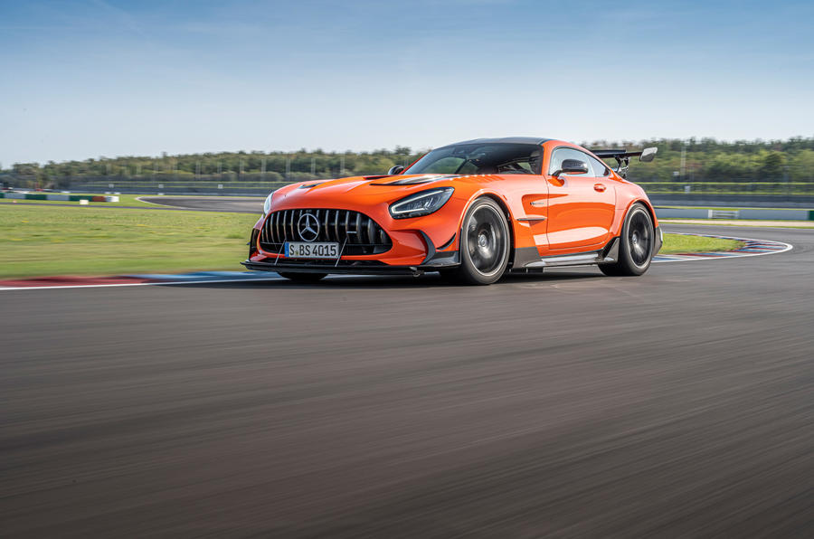 Mercedes-AMG GT Black Series 2020 first drive review - on the track low