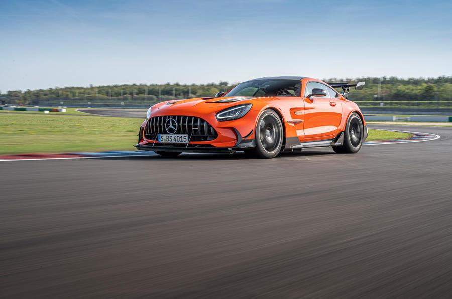 Mercedes-AMG GT Black Series 2020 : premier bilan de conduite - sur la voie du bas