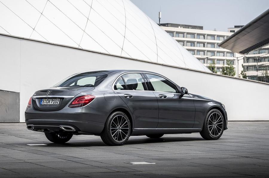 Mercedes-Benz C-Class C200 2018 review static rear