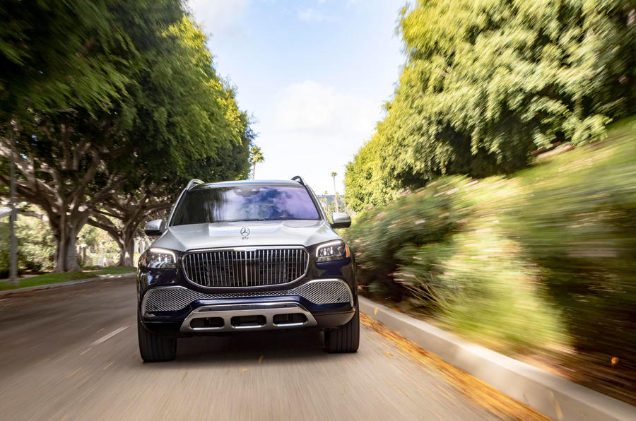 Mercedes-Maybach GLS 600 2020 first drive review - on the road nose