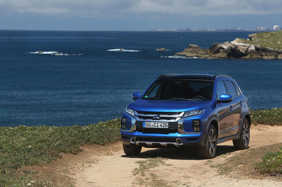 Mitsubishi ASX 2019 first drive review - static front