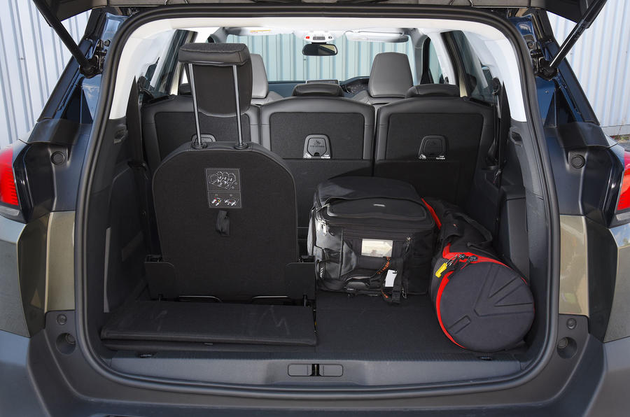 Peugeot 5008 2018 long-term review boot seat