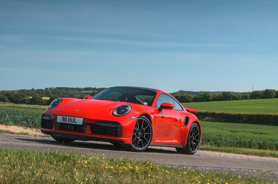 Porsche 911 Turbo S 2020 UK first drive review - static front