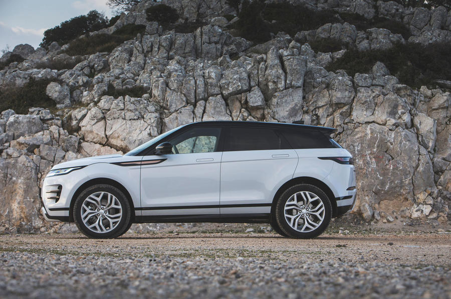 Range Rover Evoque 2019 first drive review - static side