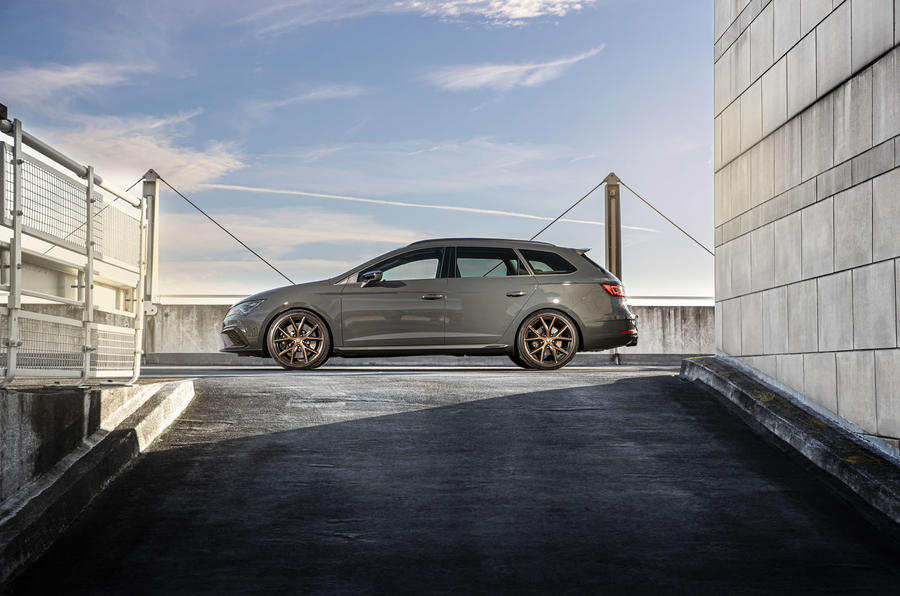 Seat Leon Cupra R ST Abt 2019 UK first drive review - static side
