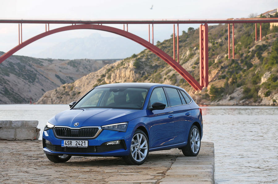 Skoda Scala 2019 first drive review - static front