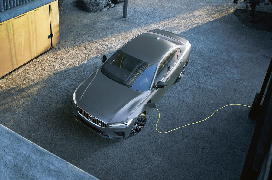 Volvo S60 Polestar Engineered hybrid charging