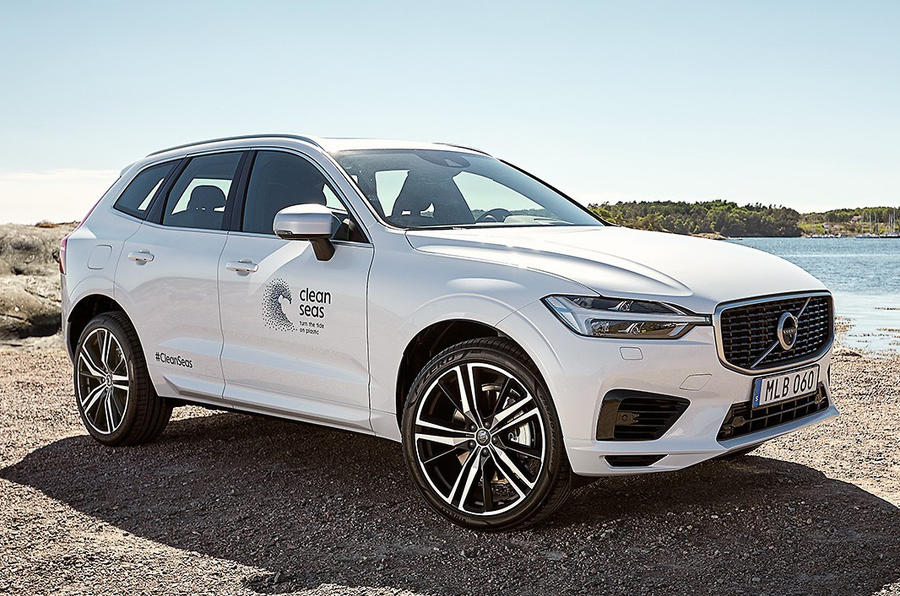Volvo sets goal of 25% recycled plastics by 2025