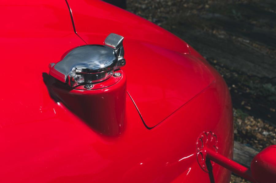 John Nash kit car 2020 - fuel port