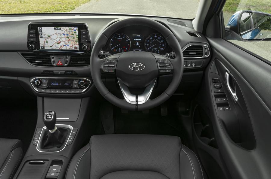 Hyundai i30 Tourer dashboard