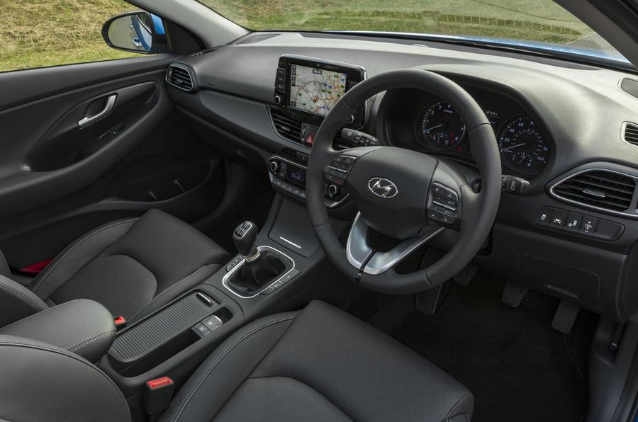 Hyundai i30 Tourer interior