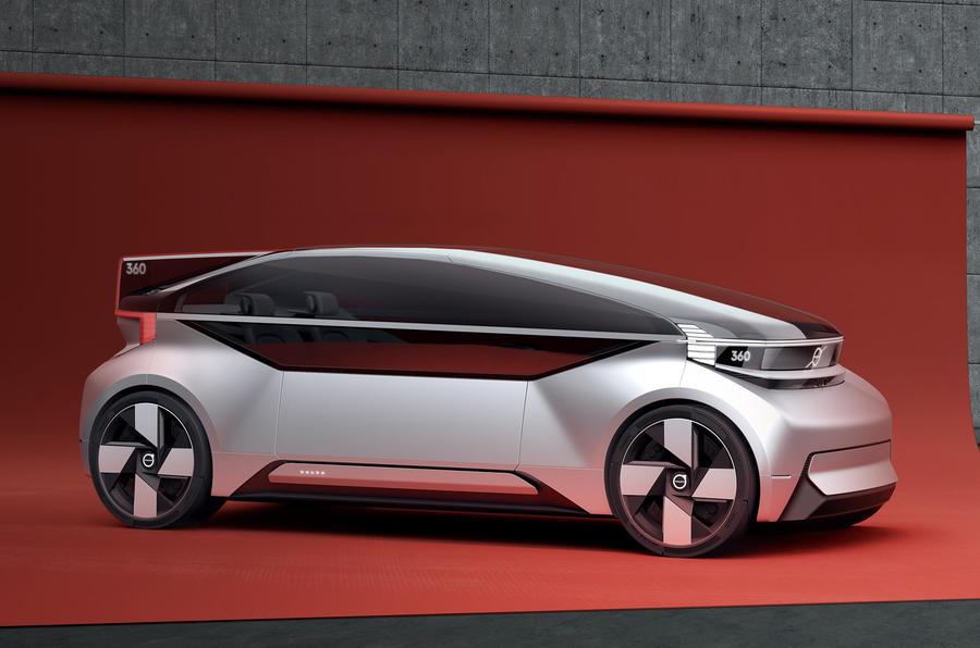 Volvo reveals 360c autonomous car concept | Autocar