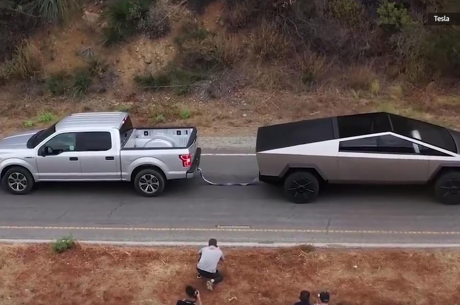 Ford F-150 vs Tesla Cybertruck