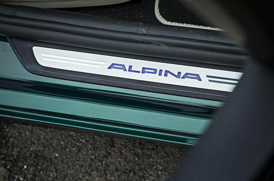 Alpina B5 BiTurbo saloon door sills
