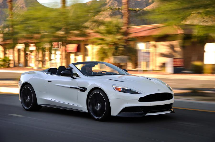 Aston Martin Vanquish Volante - hero front