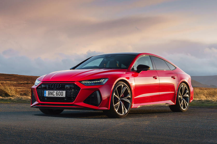 Audi RS7 Sportback 2020 UK first drive review - static