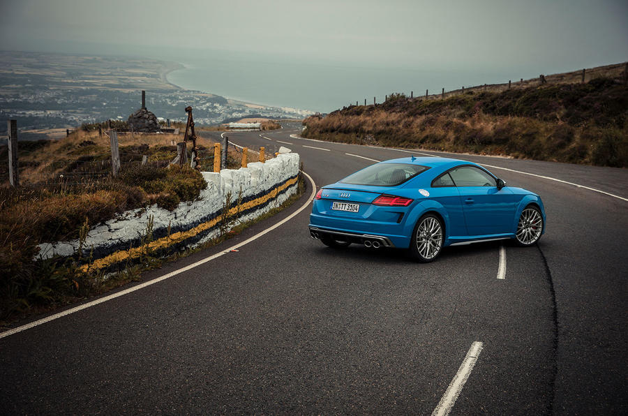 Audi TTS 2018 first drive review static hero