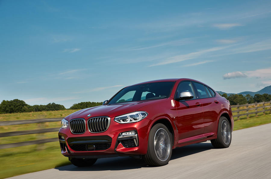 BMW X4 2018 first drive review on the road