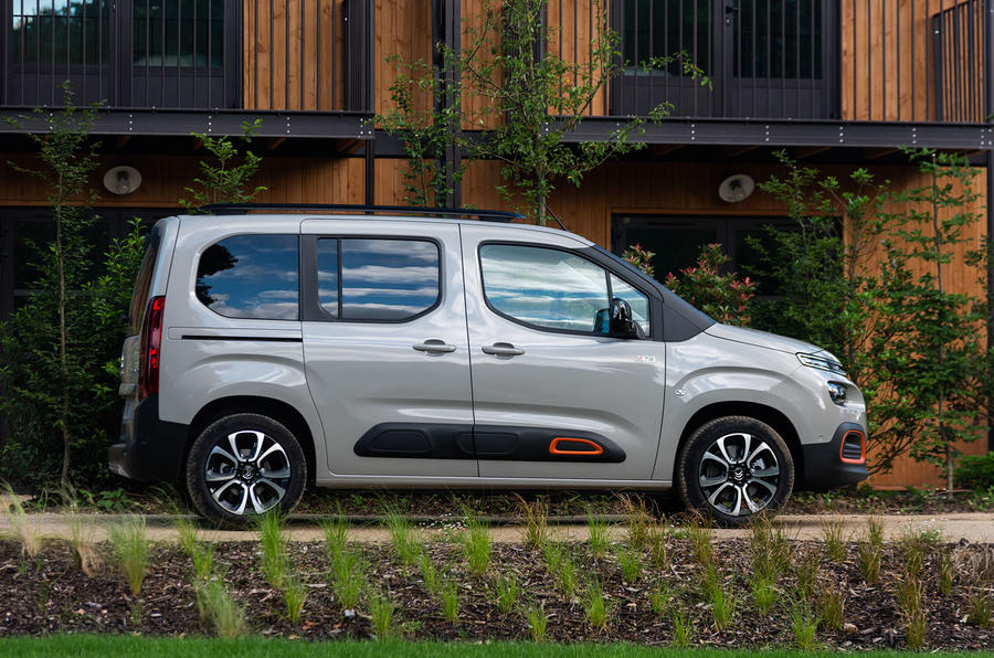Citroen Berlingo 2018 first drive review static side