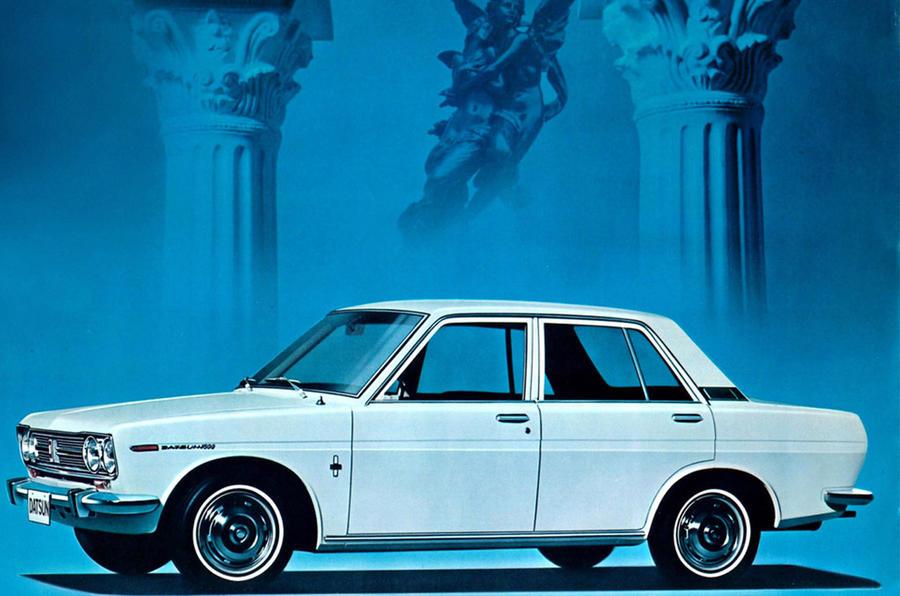 Datsun 1600 - static side
