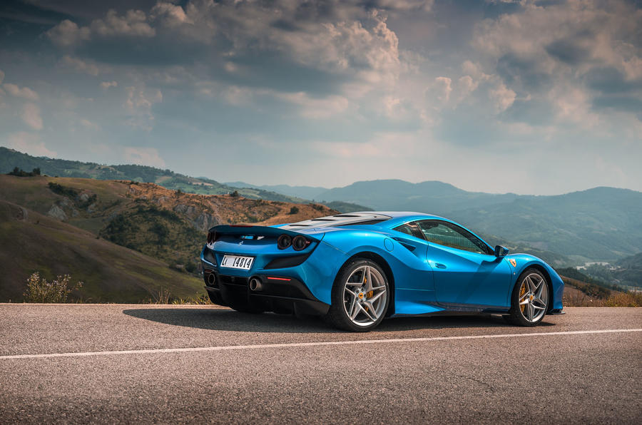 Ferrari F8 Tributo 2019 first drive review - static rear