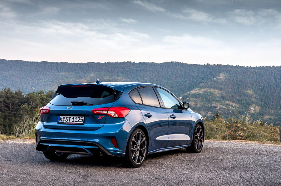 Ford Focus ST 2019 first drive review - static rear