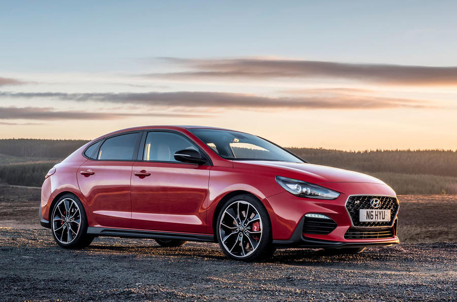 Hyundai i30 Fastback N 2019 UK first drive review - static front