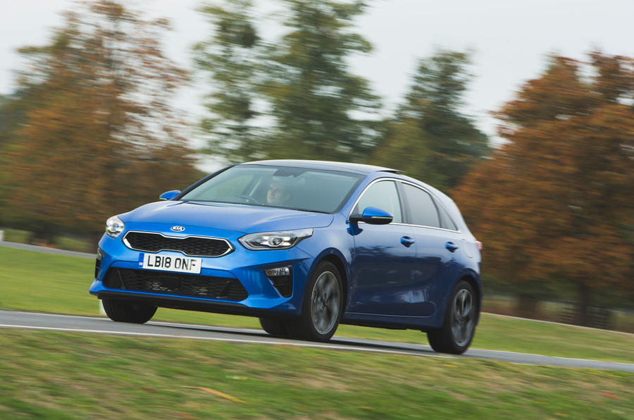 Kia Ceed 2018 long-term review - on the road front
