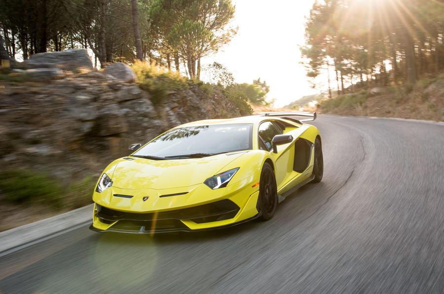 Lamborghini Aventador SVJ 2018 review - hero road