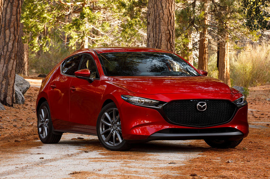 Mazda 3 2.0 Skyactiv-G 2019 first drive review - static front
