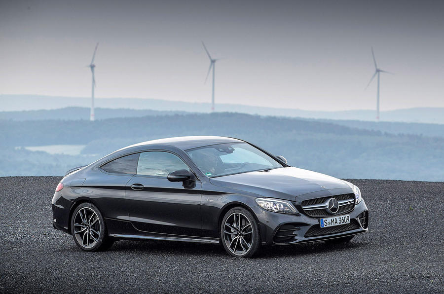Mercedes-AMG C43 2018 first drive review static front