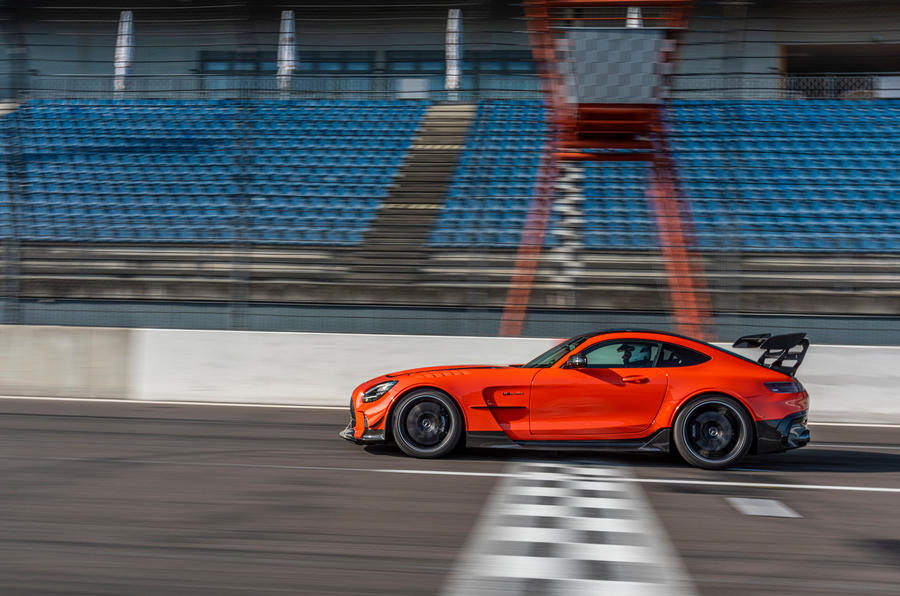 Mercedes-AMG GT Black Series 2020 first drive review - on the track side