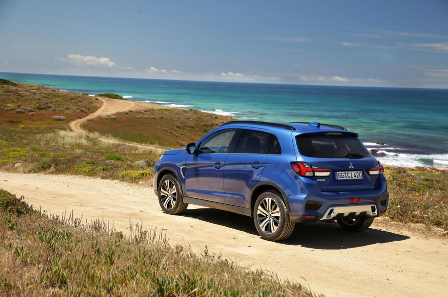Mitsubishi ASX 2019 first drive review - static rear