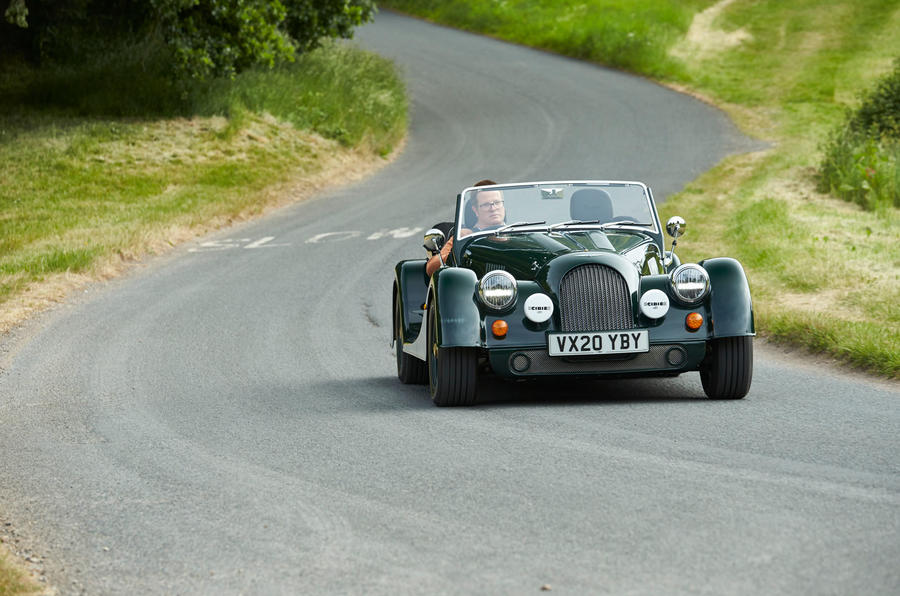 Morgan Plus Four 2020 UK first drive review - on the road front